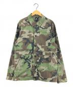 NIKE SB(ナイキエスビー)の古着「フレックスカモジャケット」|グリーン