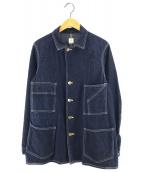 ()の古着「19SS カバーオール」|インディゴ