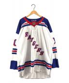 ()の古着「NEWYORK RANGERS ホッケーシャツ」 ホワイト