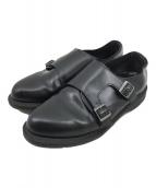 ()の古着「PANDORAダブルモンクストラップブーツ」 ブラック