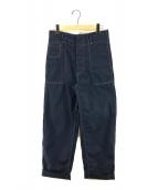 ()の古着「Workwear gabardine PT ギャバジンパンツ」 ネイビー