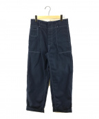 MARNI(マルニ)の古着「Workwear gabardine PT ギャバジンパンツ」|ネイビー