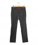 DESCENTE GOLF(デサントゴルフ)の古着「ナイロン裏起毛ストレッチロングパンツ」|ブラック