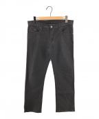 EMPORIO ARMANI(エンポリオアルマーニ)の古着「Regular Fitデニムパンツ レギュラーフィットデニム」|ブラック