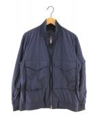 ()の古着「リップストップWEPジャケット ミリタリージャケット」 ネイビー