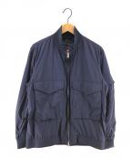 BEAMS PLUS(ビームスプラス)の古着「リップストップWEPジャケット ミリタリージャケット」|ネイビー