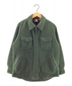 ()の古着「フリースジャケット」 グリーン