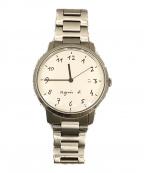 agnes b(アニエスベー)の古着「クォーツ腕時計」