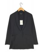 ()の古着「Glossed Etiennette Knitジャケット」|ブラック