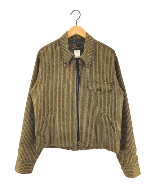 HOGGS NEPENTHES(ホッグス ネペンテス)HOGGS NEPENTHES (ホッグス ネペンテス) スイングトップ  ブラウン サイズ:Mの古着・服飾アイテム
