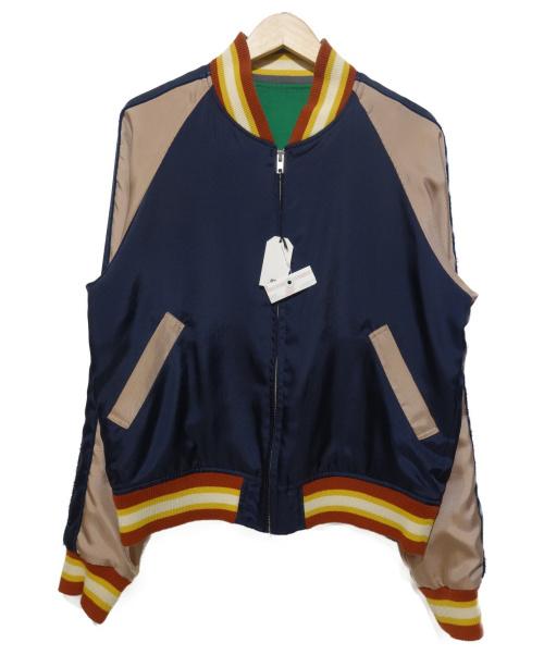 SOE(ソーイ)SOE (ソーイ) リバーシブルジャケット ネイビーの古着・服飾アイテム