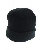 Supreme(シュプリーム)の古着「裏地フリースニット帽」|ブラック