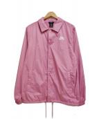 NIKE SB×FPAR()の古着「コーチジャケット」|ピンク