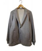 LOOPWHEELER×scye(ループウィラー × サイ)の古着「吊り裏毛ブレザージャケット」|グレー