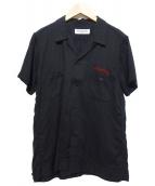 RUDE GALLERY(ルードギャラリ)の古着「オープンカラーシャツ」|ブラック