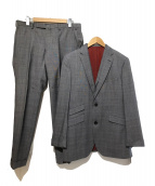 BLACK LABEL CRESTBRIDGE(ブラックレーベルクレストブリッジ)の古着「3Pセットアップスーツ」 グレー