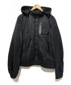 COMME des GARCONS HOMME(コムデギャルソンオム)の古着「WEP G-8ナイロンジャケット」 ブラック