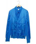 Y-3(ワイスリー)の古着「ジップトラックジャケット」|ブルー