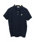 MONCLER(モンクレール)の古着「ポロシャツ」 ネイビー