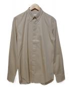 Martin Margiela14(マルタンマルジェラ14)の古着「ボタンダウンシャツ」|ベージュ