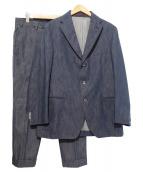 THE GIGI(ザ・ジジ)の古着「デニムセットアップスーツ」|ブルー