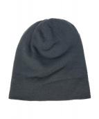LOUIS VUITTON(ルイヴィトン)の古着「カシミヤニット帽」|グレー