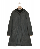 AMACA(アマカ)の古着「3WAYグリーンダウンコート」|グレー