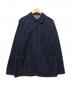 BLACK SIGN(ブラックサイン)の古着「デニムカバーオール」|ブルー