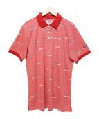 MASTER BUNNY EDITION(マスターバニーエディション)の古着「ポロシャツ」|レッド
