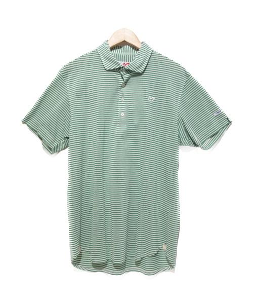 MASTER BUNNY EDITION(マスターバニーエディション)MASTER BUNNY EDITION (マスターバニーエディション) ポロシャツ グリーン サイズ:7 未使用品の古着・服飾アイテム