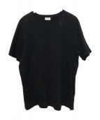 Saint Laurent Paris(サンローランパリ)の古着「クルーネックTシャツ」 ブラック
