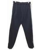 NEON SIGN(ネオンサイン)の古着「Lined Track Pants」|ブラック
