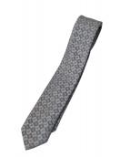 BVLGARI(ブルガリ)の古着「ネクタイ」|グレー