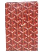 GOYARD(ゴヤール)の古着「pierre wallet」|レッド