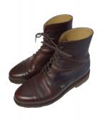 PARABOOT(パラブーツ)の古着「ショートブーツ」 ブラウン