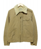 WACKO MARIA(ワコマリア)の古着「裏ボアコーデュロイジャケット」|ベージュ