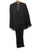 N.HOOLYWOOD(エヌハリウッド)の古着「3Pセットアップスーツ」|ブラック