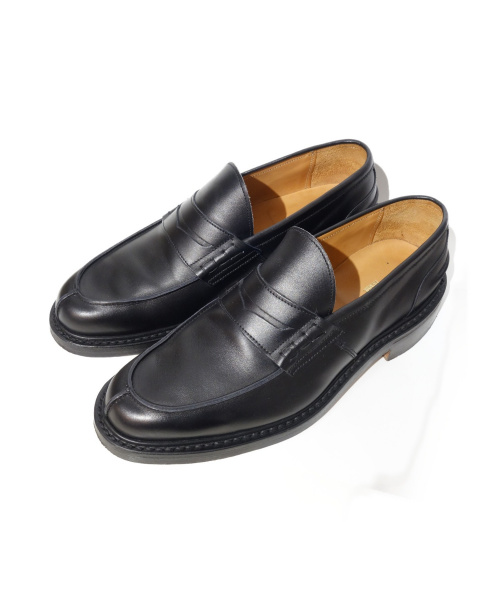 COMME des GARCONS HOMME(コムデギャルソンオム)COMME des GARCONS HOMME (コムデギャルソンオム) コインローファー ブラック サイズ:8の古着・服飾アイテム
