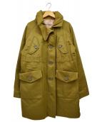 GOLDEN GOOSE(ゴールデングース)の古着「ミリタリーコート」|グリーン