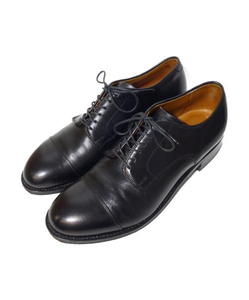 ALDEN(オールデン)ALDEN (オールデン) カーフレザーストレートチップシューズ ブラック サイズ:6 1/2 56610の古着・服飾アイテム