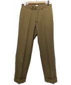 KAIKO(カイコー)の古着「THE PREST パンツ スラックス」|ベージュ
