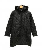 LAVENHAM()の古着「キルティングコート フード付」 ブラック