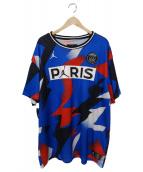 NIKE(ナイキ)の古着「PSG x JORDAN Mesh Top/ゲームシャツ」|ブルー