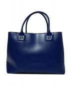 agnes b(アニエスベ)の古着「ハンドバッグ」|ブルー