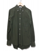 MADISON BLUE(マディソンブルー)の古着「ボタンダウンシャツ」|オリーブ