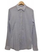 Martin Margiela14(マルタンマルジェラ14)の古着「レギュラーシャツ」|ブルー