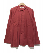 MARNI(マルニ)の古着「コットンシャツ」|レッド