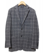 L.B.M.1911(エルビーエム1911)の古着「ウールコットンテーラードジャケット」|グレー