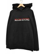 NOON GOONS(ヌーングーンズ)の古着「プルオーバーパーカー」|ブラック