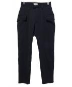 BED J.W. FORD(ベッドフォード)の古着「カットオフパンツ」|ブラック